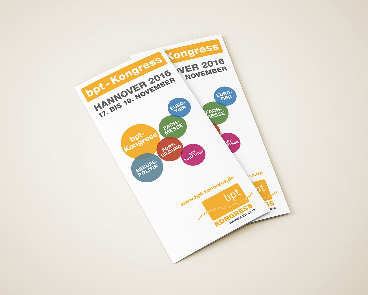 Flyer bpt-Kongress 2016